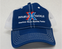 Double X Tackle Hat Blue
