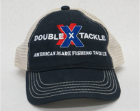 Double X Tackle Hat Navy Blue